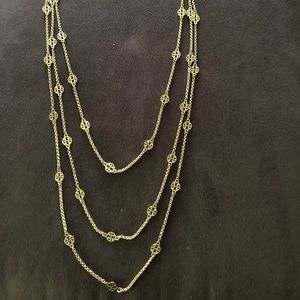 Tory Burch 3-layer necklace